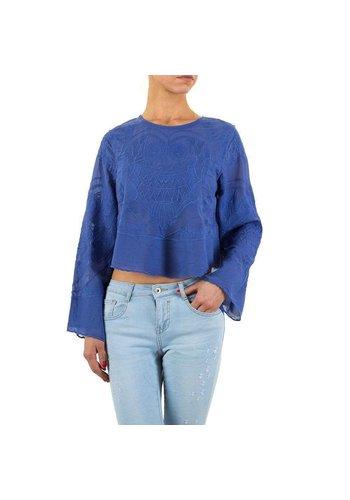 Neckermann Dames blouse-of-zo-Sweet-blue