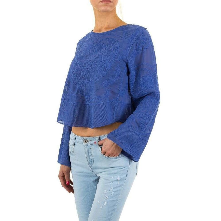 Dames blouse-of-zo-Sweet-blue