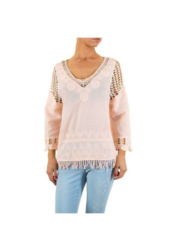Neckermann Dames blouse-of-zo-Sweet-rose