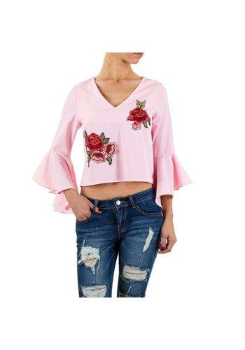Neckermann Damesblouse van Shk Mode - rose