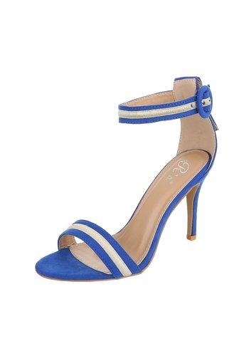 Neckermann Chaussure Open Ladies avec talon bleu