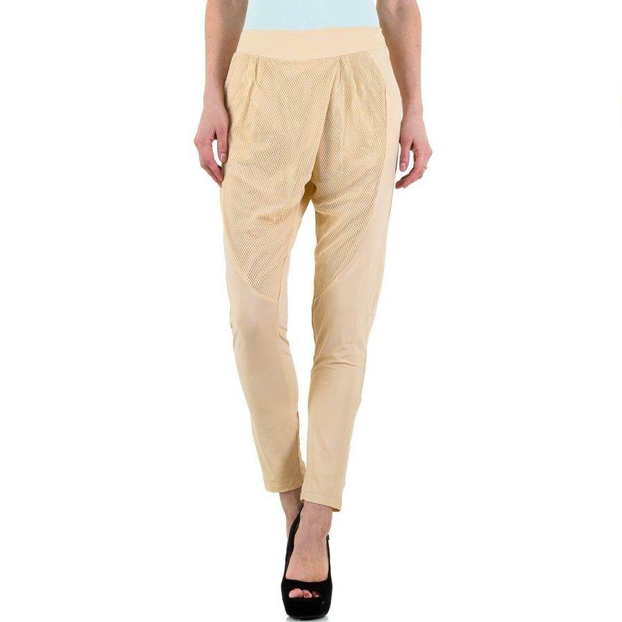 Damesbroek van Blue Rags - beige