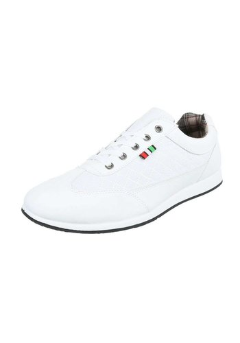 Neckermann Heren casual schoenen - wit