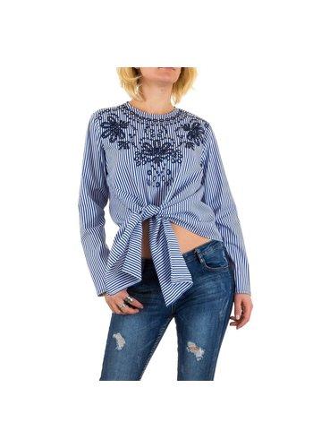 Neckermann Damesshirt van Jcl Paris - blauw