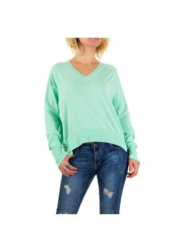 Neckermann Damen Pullover von Jcl Paris - green