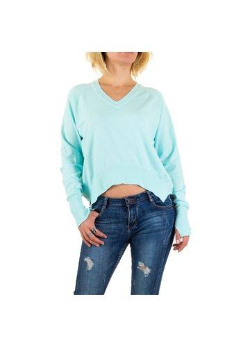 Neckermann Damessweater van Jcl Paris - blauw