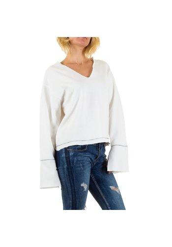 Neckermann Damen Bluse von Jcl Paris Gr. one size - white