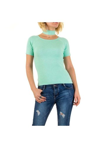 Neckermann Damen Pullover von Jcl Paris Gr. one size - green