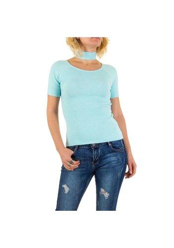 Neckermann Damen Pullover von Jcl Paris Gr. one size - blue