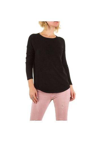 Neckermann Dames Sweater Gr. een maat - zwart