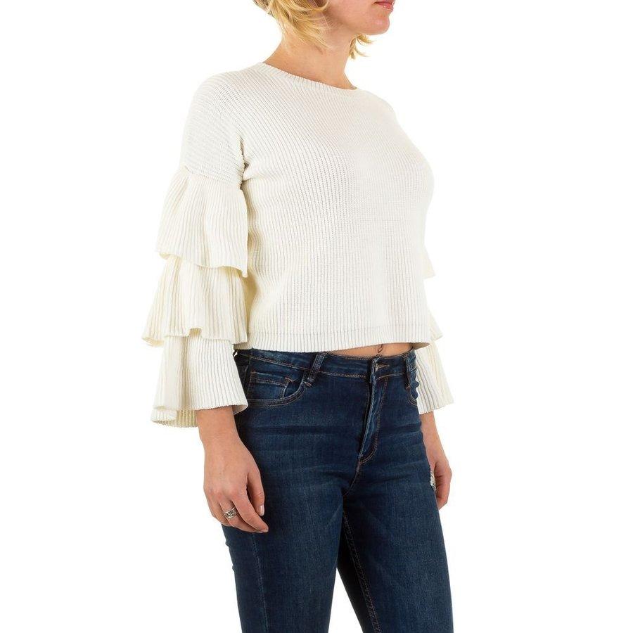 Pull Femme Gr. taille unique - blanc