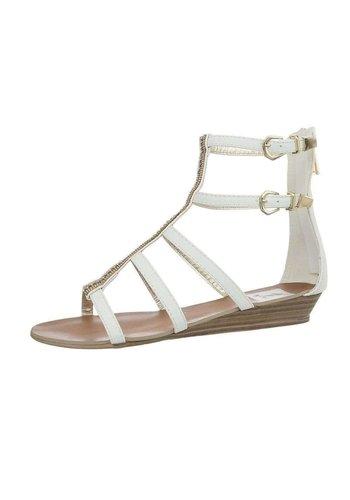 Neckermann Sandales pour femmes - blanc