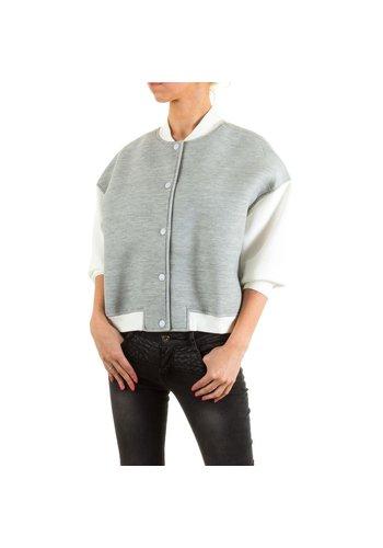 Neckermann Damen Jacke von Jcl - grey
