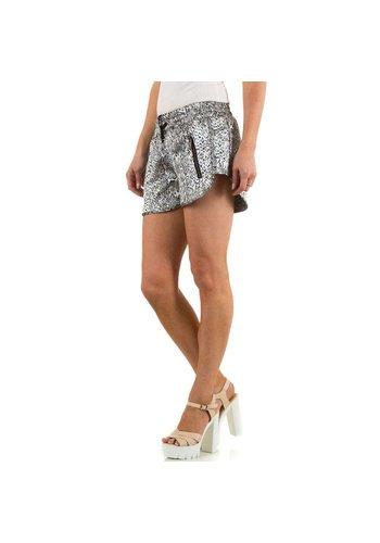 JCL Damen Shorts von Jcl - silver