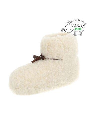 Neckermann Biologische slippers voor kinderen - wit