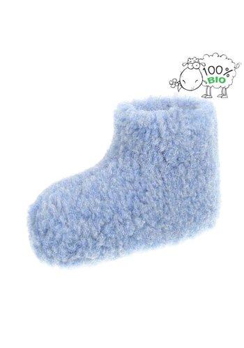 Neckermann Organische slippers voor kinderen - blauw