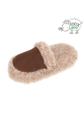 Neckermann Dames Heren Slippers - bruin