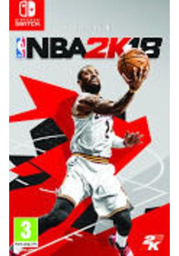 Nintendo Switch NBA Basketball 2K18 - Commutateur