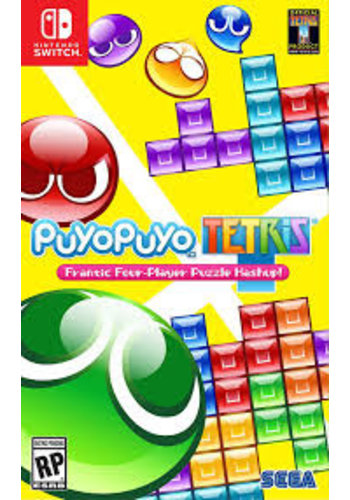 Nintendo Switch Puyo Puyo Tetris - Commutateur