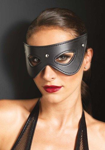 Leg Avenue Kunstleder besetzte Augenmaske