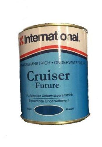 International Peinture sous-marine - Cruiser Future - bleu - 750 ml