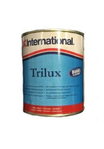 International Trilux - Harde antifouling - rood - 750 ml