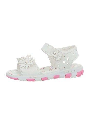 Neckermann Kinder Sandaletten - white