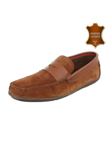 Neckermann Leren mocassin van COOLWALK-tan
