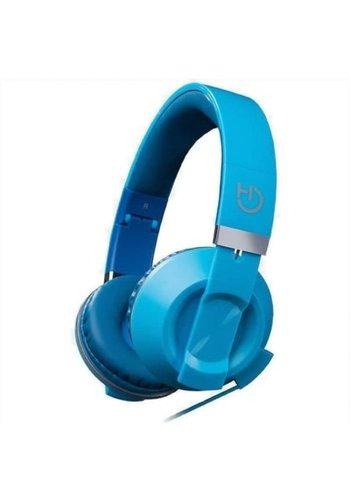 HIDITEC  COOL KIDS Headband Binaural Oreillette mobile filaire bleue