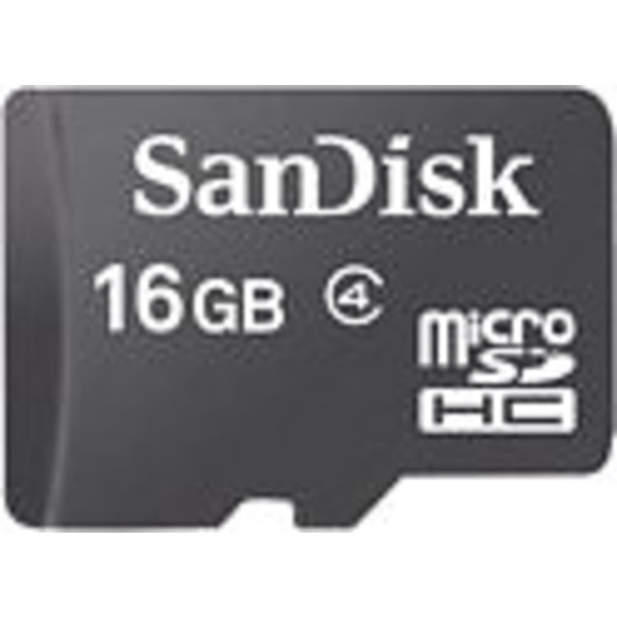 Carte SanDisk Micro Sd 16 Go uniquement