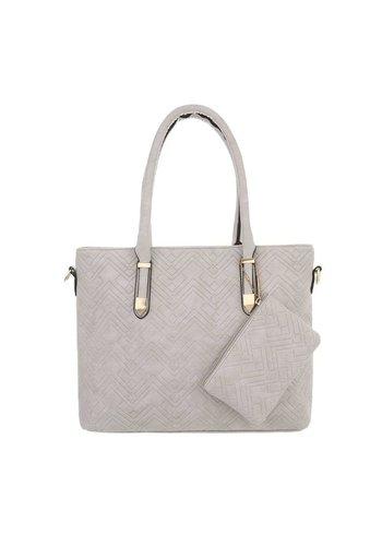 Neckermann Damenhandtasche grau
