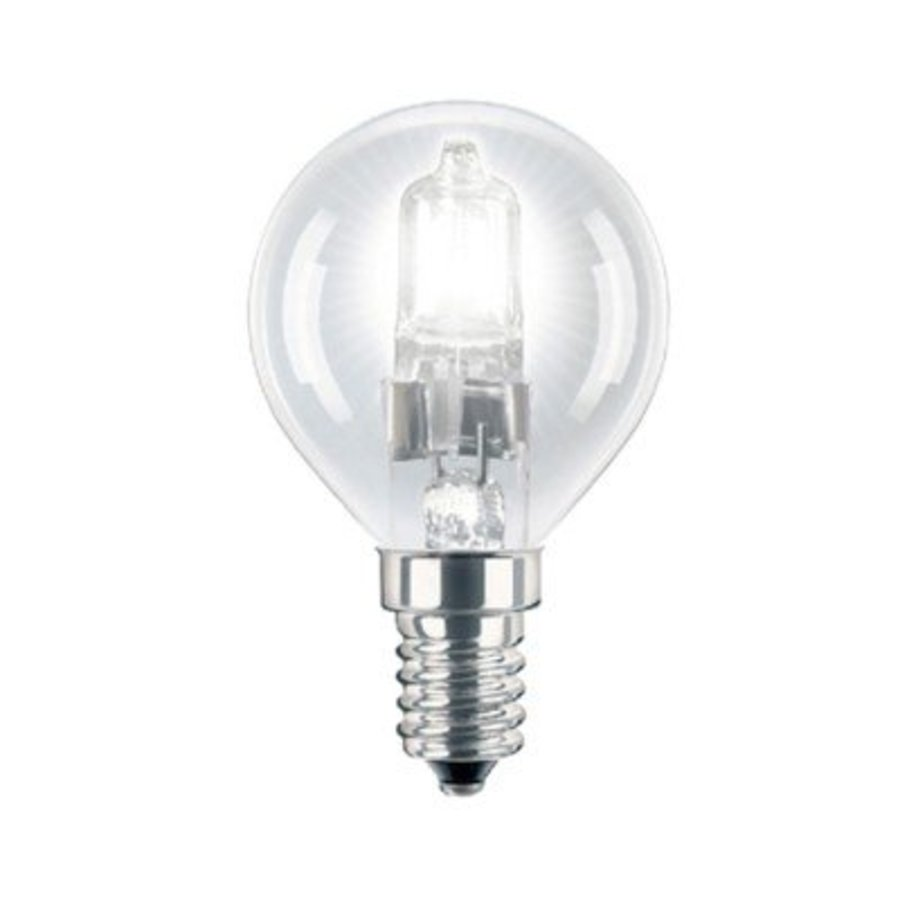 Energiesparende Halogenlampe E14 P45 18W