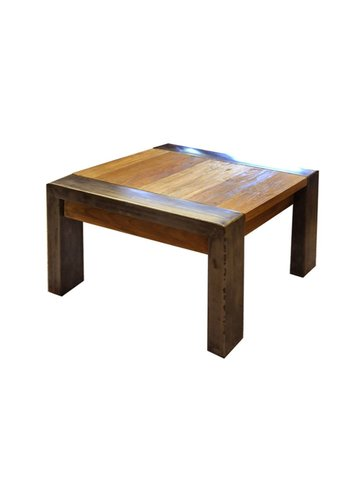 Neckermann Table basse - bois de teck - 42x60x60 cm - Copy