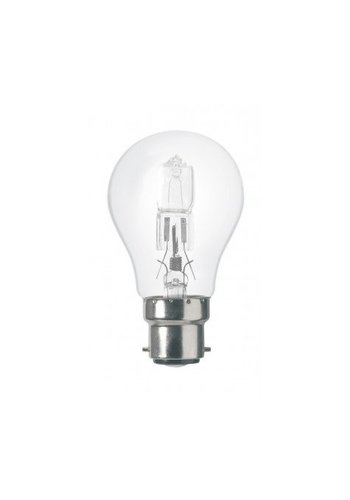 Sigalux Lampe halogène à économie d'énergie B22 A55 53W