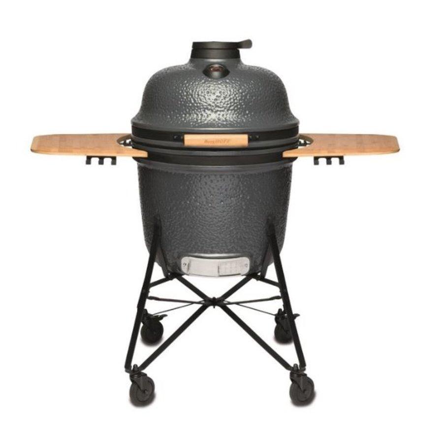 Barbecue Keramik - grau - groß