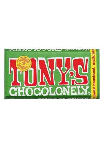 Tony's Chocolonely Melk hazelnoot - 180g