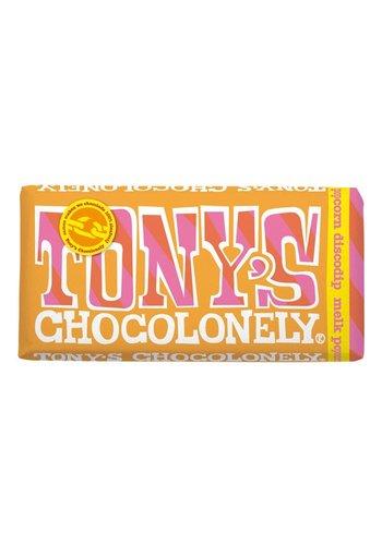 Tony's Chocolonely Melk Popcorn Discodip - 175g