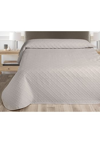 Nightsrest Nightsrest Bedsprei Kate - Taupe Maat:
