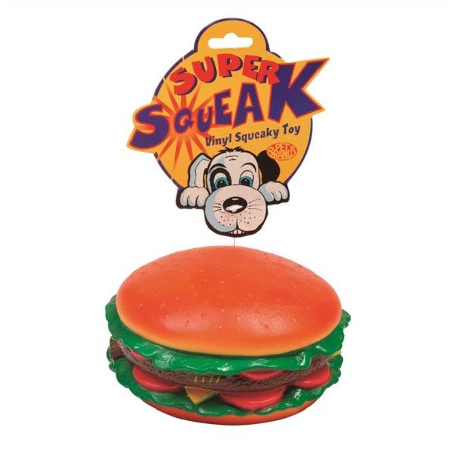 Super Squeak Hambuger - Spielzeug