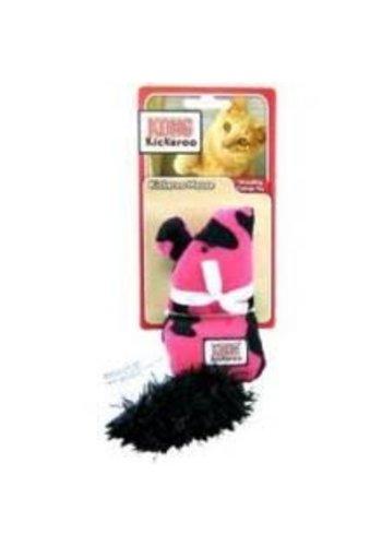 Kong Kickeroo patroon tijger - roze - 23 cm