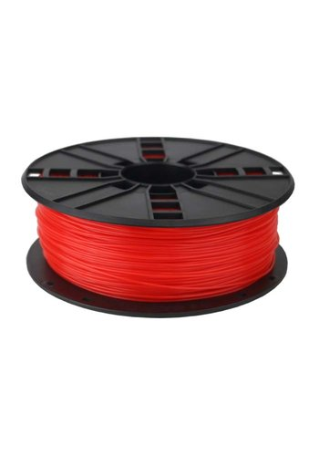Gembird3 ABS Filament  Fluorescent Red, 1.75 mm, 1 kg