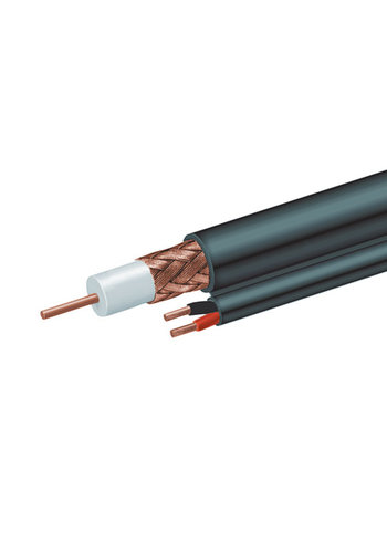 Cablexpert Premium dual-RG59 coaxial kabel, 300 m