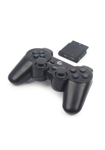 GMB Gaming Kabelloses Gamepad mit Vibration, PS2 /PS3/ PC