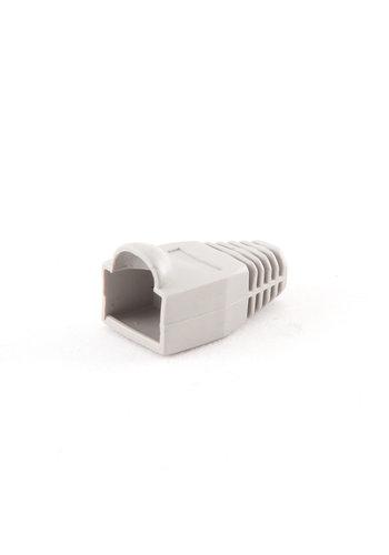 Cablexpert Strain relief (boot cap), grey, 100 pcs per polybag