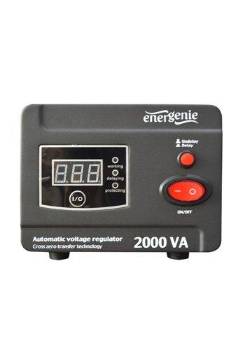 Energenie Automatischer AC Spannungsregler und Stabilisator, 2000VA