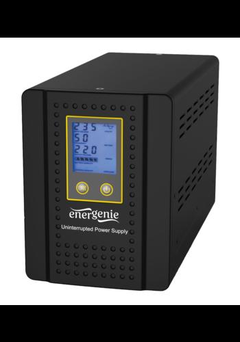 Energenie Home Inverter mit AVR und Batteriemanagement Funktion, 1000VA