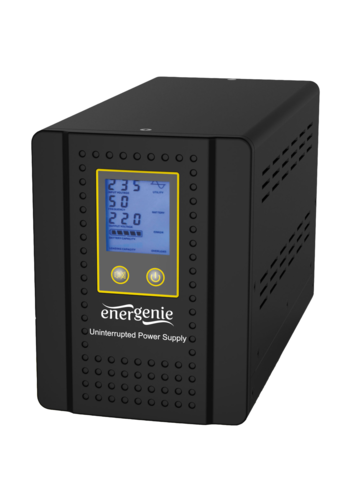 Energenie Home Inverter mit AVR und Batteriemanagement Funktion, 500VA