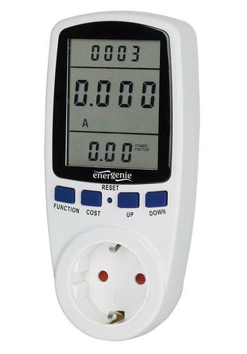 Energenie Smartes Energiemessgerät mit Steckdose, 16 A
