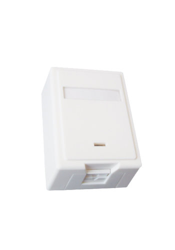 Cablexpert One jack surface mount box with cat. 5e keystone jack