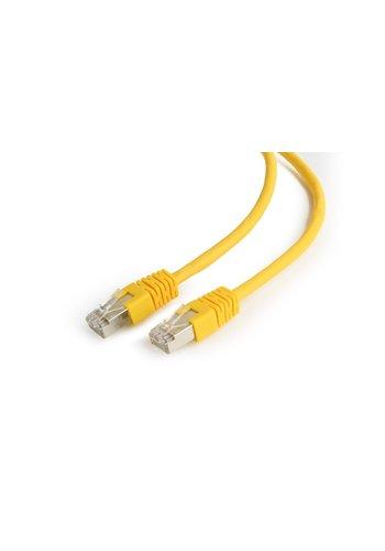 Cablexpert FTP Cat6 patchkabel geel 1 meter